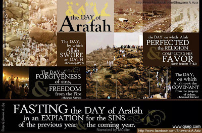 Fasting On The Day Of Arafah (9th Day of Dhulhijjah)