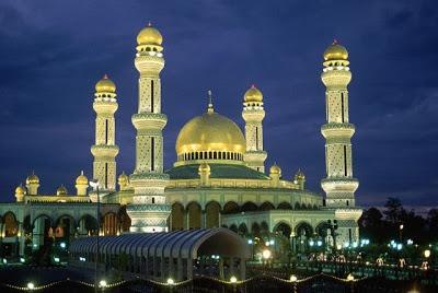 Golden Mosque (Masjid Al-Dahab) in Manila