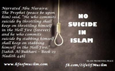 No Suicide In Islam