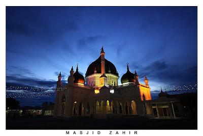Zahir Mosque in Alor Satar, Malaysia