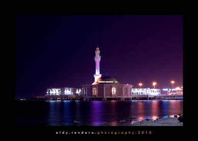 Floating Mosque in Jeddah, Saudi Arabia