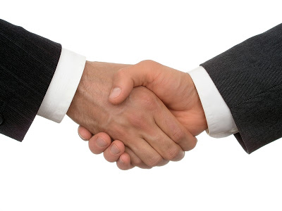 When Two Muslims Meet And Shake Hands
