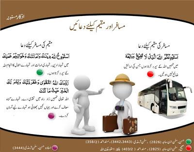 Musafar or Muqeem Ke Liye Dua