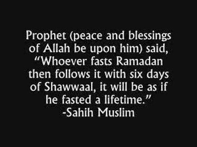 The Virtue Of Fasting Six Days Of Shawwaal
