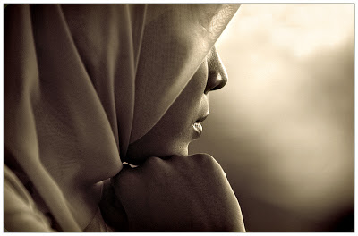 Be careful if you make a woman cry, Because Allah counts her tears